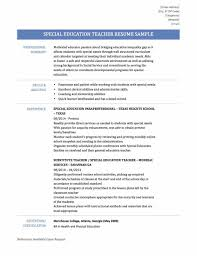 Teachers Resume Example Education Resume Examples Sample Resume123
