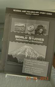 world studies foundations of geography reading and vocabulary