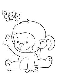 printable coloring pages monkeys spider monkey coloring pages monkey coloring pages girl monkey