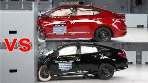 honda civic or hyundai elantra crash test 2016 honda civic vs 2017 hyundai elantra
