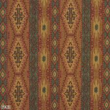 Tapestry Upholstery Fabric Discount And Red And Coral Multi Colored Country Or Southwestern Stripe