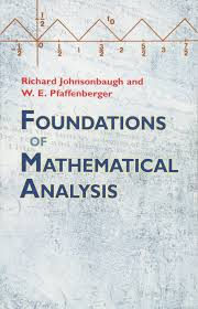 foundations of mathematical analysis dover books on mathematics