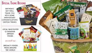 themed gifts gift baskets canada gift baskets vancouver housewarming golf
