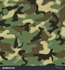 abstract vector military camouflage background seamless stock