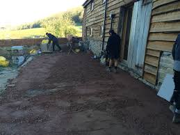 Sub Base For Patio by Stunning Barn Conversion Gets New Patio Pave Your Way