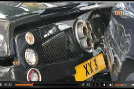 pagani suv million dollar plus pagani zonda f crashes into parked cars in