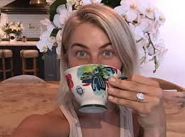 julianne hough engagement ring julianne hough shares ups of flawless engagement ring