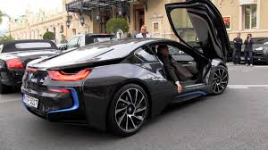 Bmw I8 3 Cylinder - pre production bmw i8 e drive in monaco youtube