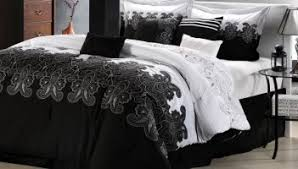 Beautiful Silver Black And White Bedrooms Ideas Images Home - Black white and silver bedroom ideas