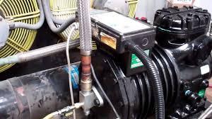 copeland compressor oil change youtube