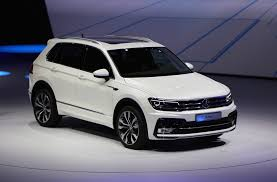 volkswagen crossblue interior 2018 vw tiguan suv aims for u s with third row higher mpg