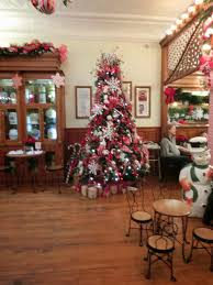 columbus in christmas at zaharakos ice cream parlor explore