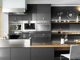 la cuisine bistrot meuble cuisine bistrot cuisine gris anthracite 56 idées pour une