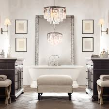 Modern Bathroom Chandeliers 12 Best Ideas Of Modern Bathroom Chandeliers