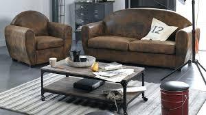 canap style industriel canape cuir industriel table basse style industriel but canape cuir