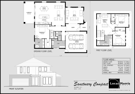 Building Plans For House by Double Story House Floor Plans 868