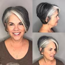 fgrowing hair from pixie to bob 60 gorgeous hairstyles for gray hair