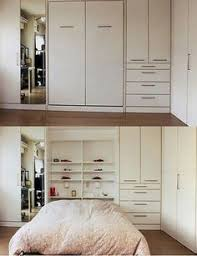 Sliding Bookcase Murphy Bed The Ultimate In Comfort This Bed Features Bi Fold Bookcase Doors