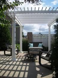 outdoor modern patio as outdoor living space area romantic