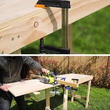Build Cheap Outdoor Table by How To Build A Simple Workbench Diy Projects Craft Ideas U0026 How