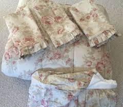 Ralph Lauren Comforter Queen Rare Vintage Ralph Lauren Home Heartland Floral 5pc King Comforter