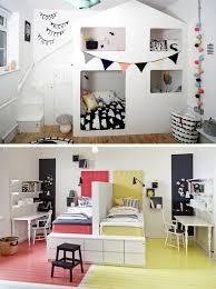 chambre pour 2 enfants une chambre pour deux enfants 14 idées de séparations momes