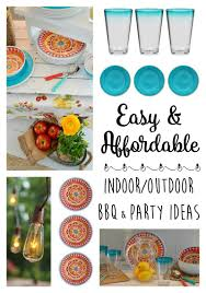 indoor outdoor bbq party entertaining ideas fox hollow cottage