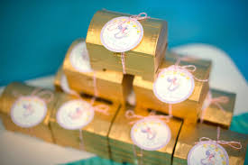 Treasure Chest Favors by Kara S Ideas Treasure Chest Favors From A Magical Mermaid