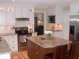 White Maple Kitchen Cabinets - painted white kitchen cabinets stunning dayton painted white