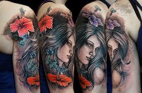 40 magnificent hibiscus flower tattoos and design