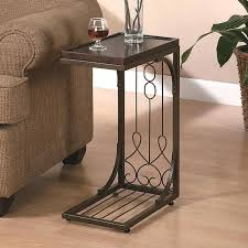 wedge shaped end table c shaped end table best c tables for your living room c shaped end