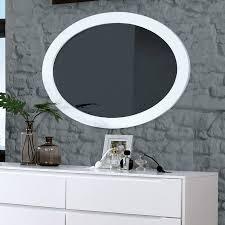 Mid Century Modern Wall Mirror Enitiallab Polick Mid Century Modern Oval Accent Wall Mirror