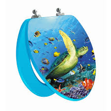 topseat high res 3d image sea turtle elongated regular lid closure