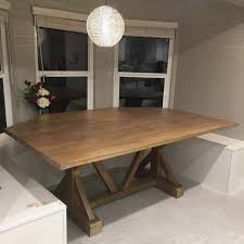 kitchen table large dining table custom made dining room tables