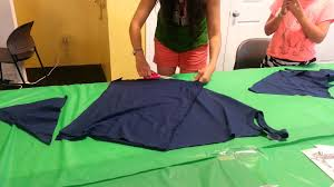 diy how to make a no sew apron from a t shirt youtube