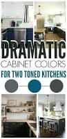 5 two toned diy kitchens the weathered fox