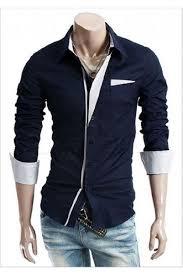 tshirts design design mens dress shirts patch point slim navy shirt s for mens