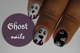 ghost nail art halloween mailevel net