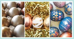 metallic easter eggs easter egg decorating the complete guide shari s berries