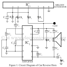 car reverse horn u2013 electronics project