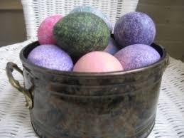 papier mache easter eggs paper mache egg easter table centerpiece the home and garden cafe