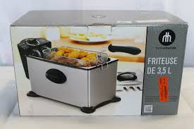 home trends 3 5l deep fryer big valley auction