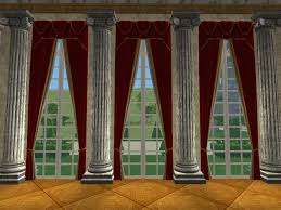 Tie Back Curtains Mod The Sims 2 Storey Doublewide Tieback Curtains