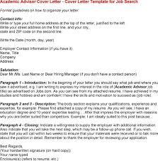 sample academic advisor cover letter legal administrator cover
