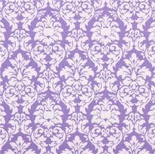 purple dandy damask ornament fabric michael miller