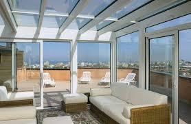 vetrata veranda verande a roma su misura in vetro alluminio pvc magifer