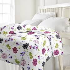 Bed Quilts Online India Buy Ecraftindia 220 Tc Polycotton Single Blanket Floral
