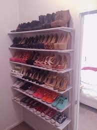 How To Make Closet Shelves by Ideas How To Create Diy Shoe Closet Shelves Closet Shelves
