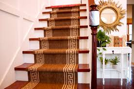 Rug Runner For Stairs Stair Runner Install Diy Style Living Quarters On A Dime