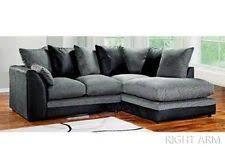 Black Fabric Sofa Fabric Sofas Ebay
